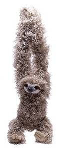 Cute and Fluffy Sloth Teddy: http://all-things-sloth.com/41-awesome-sloth-gifts-christmas/