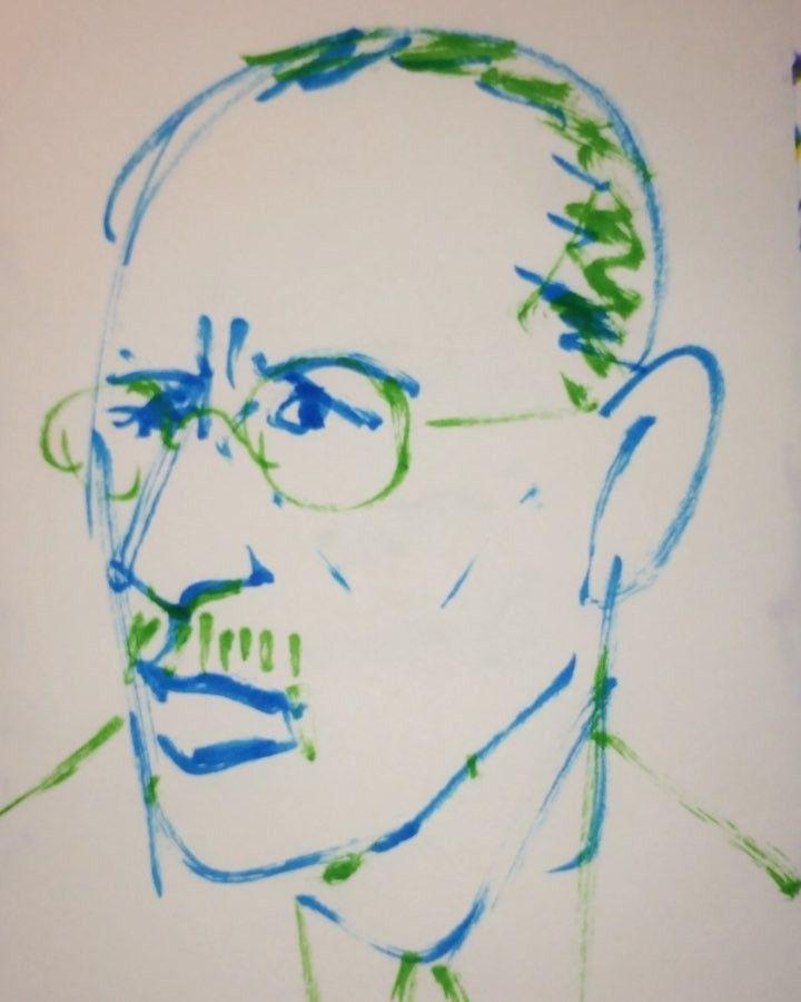 1mindrawさんはInstagramを利用しています:「#1mindraw #И́горьСтрави́нский #igorstravinsky #イーゴリストラヴィンスキー #18820617 #birthday #誕生日 #portrait #筆ペン画」