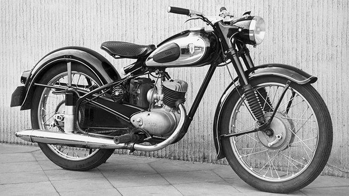DKW RT 125/2H, 1954 > DKW-motorcyklar > 1945-1965 > Audi Sverige