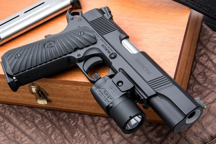 With all the bells and whistles, Wilson Combat's update of the Protector is certain to turn shooters' heads.