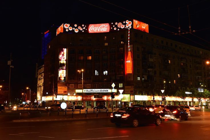 Proiect special Coca Cola - Piata Romana