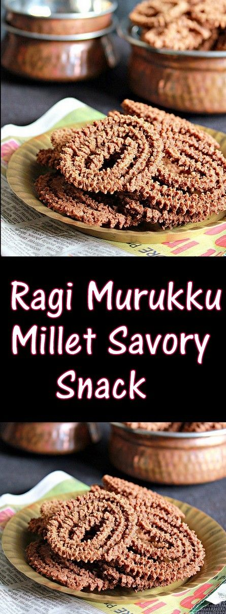 Ragi Murukku, Finger Millet Chakli, easy and delicious snack