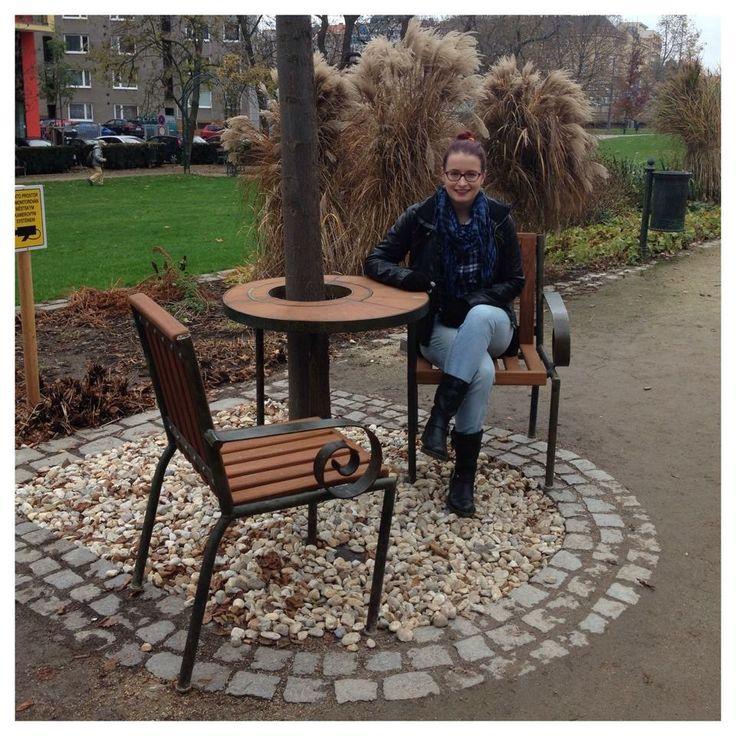 Vaclav Havel's Bench