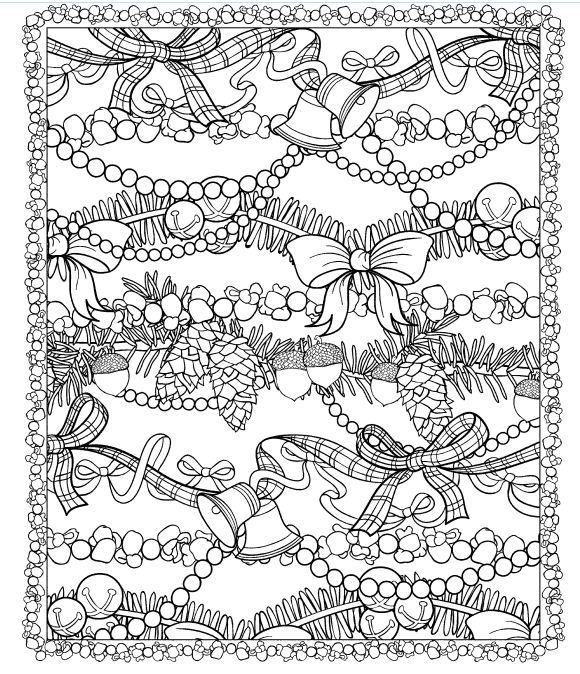 christmas coloring pages for adults google search