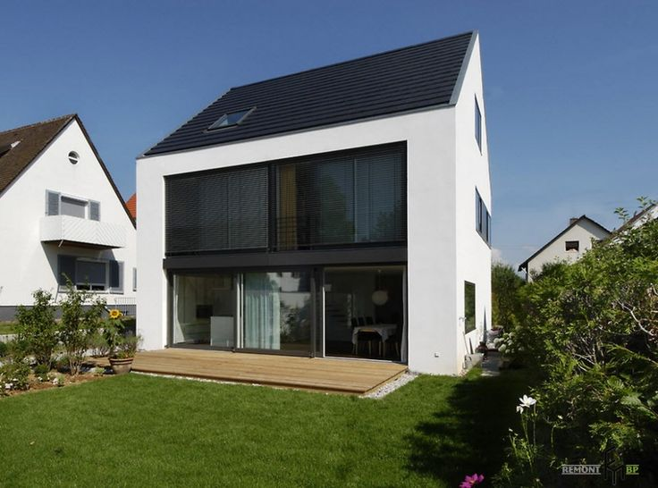 Amusing Modern Design Of Facades And Private House With Glass Window In  Facades House Plus Garden