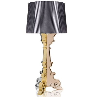 Kartell - Bourgie Table Lamp Titanium