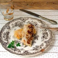 チキンロール(チキンをライスペーパーで包んだベトナム風簡単お米料理)