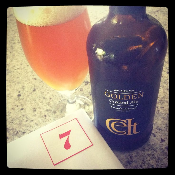 Day 7 of #giantbeeradventcalendar Celt Experience Golden