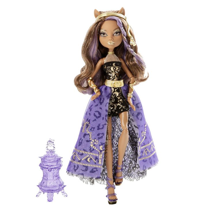 Кукла Monster High 13 Желаний Марокканская вечеринка Клодин Вульф Y7702/Y7705