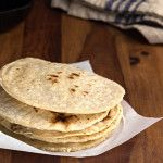 Make your own brown rice tortillas 1 1/2 cups brown rice flour 1/2 cup arrowroot powder or tapioca flour 1/2 teaspoon sea salt 1 cup boiling water