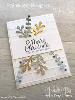 At the moment, I am absolutely LOVING some particular cards that Mary Fish from Stampin' Pretty in the U.S. has made. These card highligh...