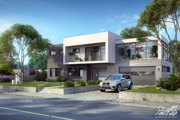X10: архитектура, 2 эт | 6м, жилье, хай-тек, 200 - 300 м2, фасад - штукатурка, коттедж, особняк, фасад - керамогранит #architecture #2fl_6m #housing #hitech #200_300m2 #facade_plaster #cottage #mansion #facade_granite arXip.com