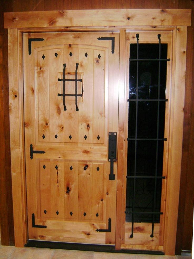 Custom Knotty Alder Door Amp Sidelight Products I Love