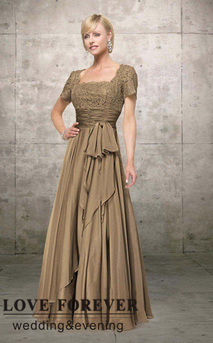 Brown wedding dresses   best mother of bride dresses images on Pinterest  Mob dresses