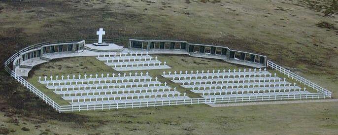 Cementerio de Malvinas.