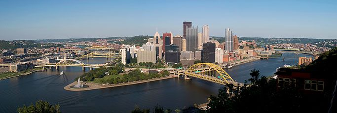 Pittsburg, PA  - Home of Point Park University