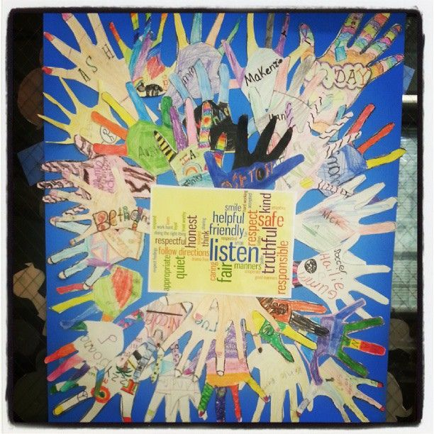 Our Social Contract, every one had a hand in it. #4thchat by BarbaraLN, via Flickr