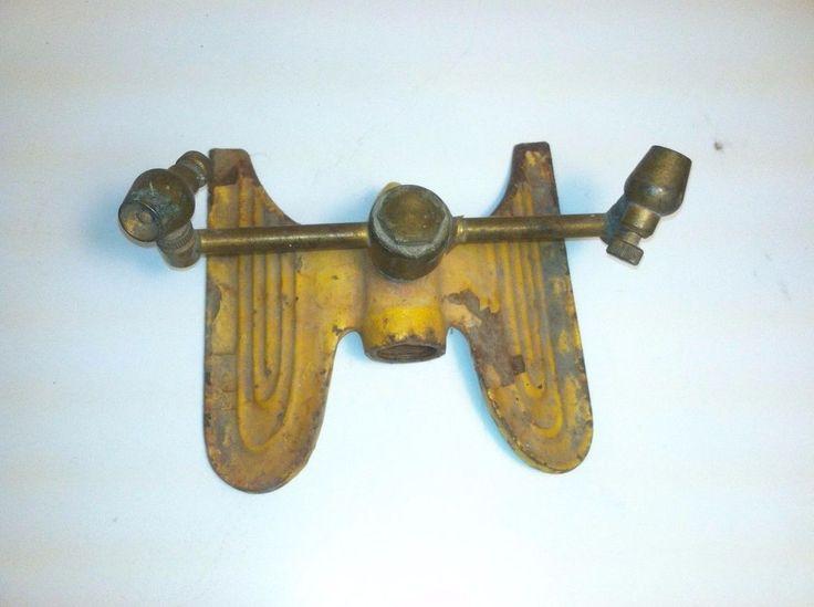 vintage 1930u0027s antique lawn garden yard water sprinkler cast iron and brass