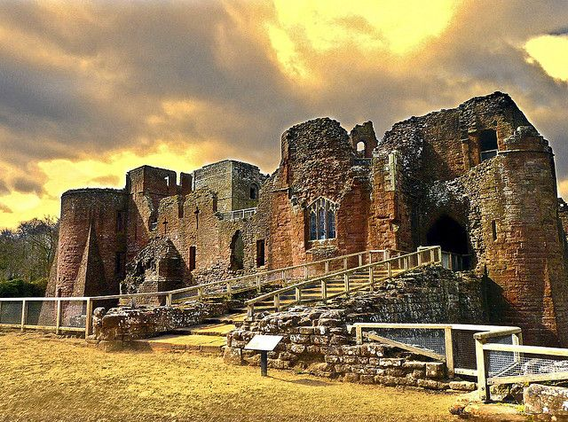 Goodrich castle  An excellent castle run by English Heritage