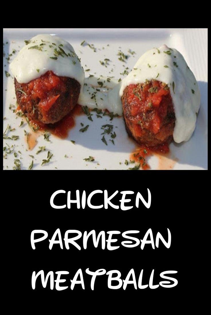 Chicken Parmesan Meatball