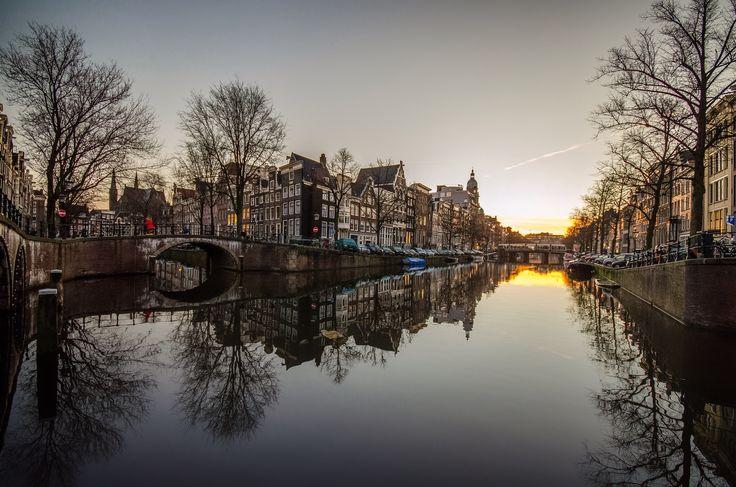 Sunrise in Amsterdam  by Kire Hajba on 500px
