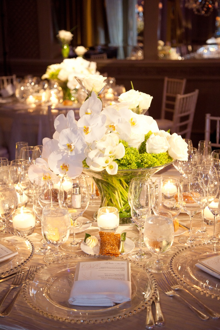 352 best centerpiece flowers candles images on pinterest for Floral table decorations for weddings