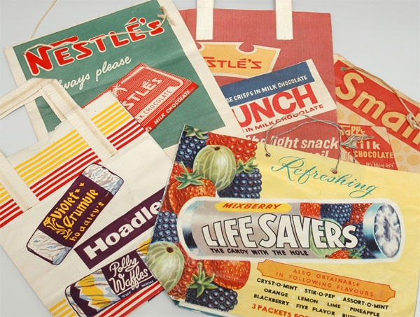 Vintage Showbags from the Royal Melbourne Show