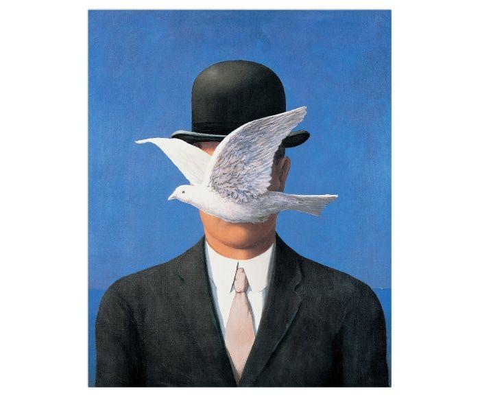 Schilderij L'Homme au Chapeau