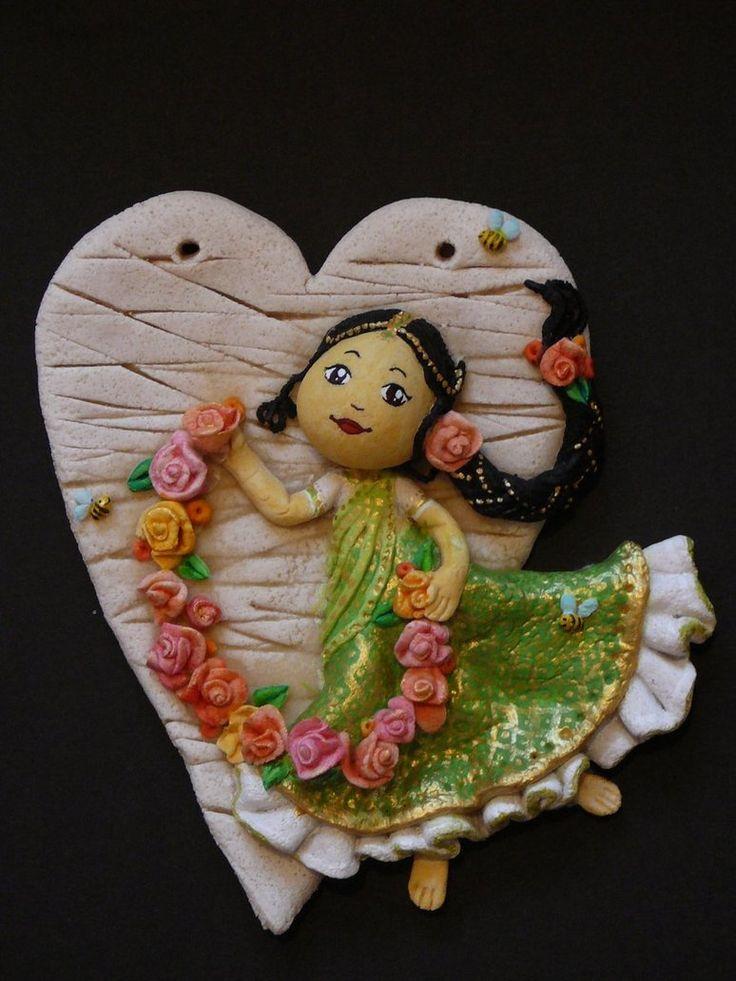 75 best christmas dough ornaments angels images on for Salt dough crafts figures