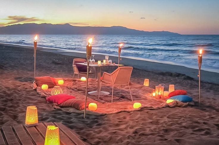 Seeking for some romance in your life? We know the way.. Enjoy a unique private dinner on the beach!