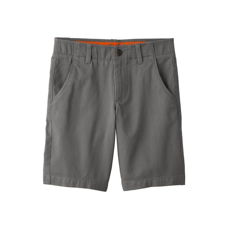Boys 8-20 Urban Pipeline® MaxFlex Flat-Front Shorts, Boy's, Size: 20, Grey