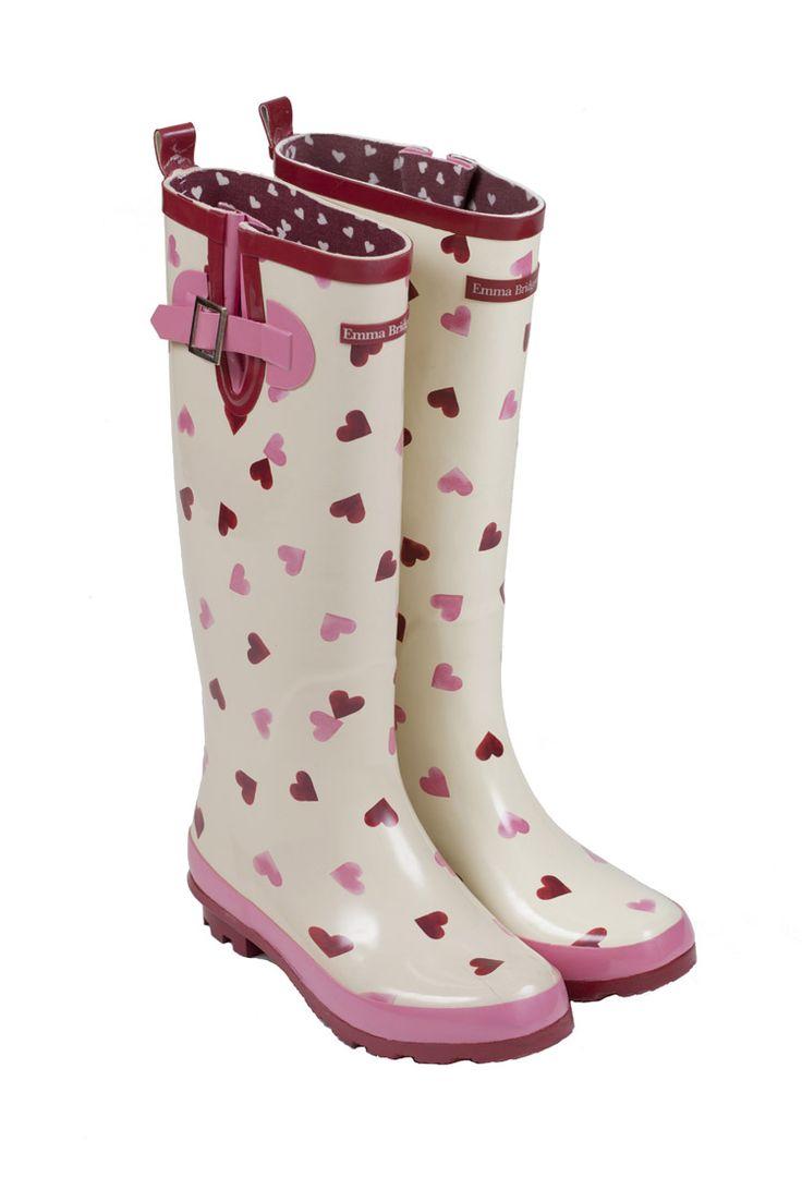 Emma Bridgewater - Hearts - Wellington Boots