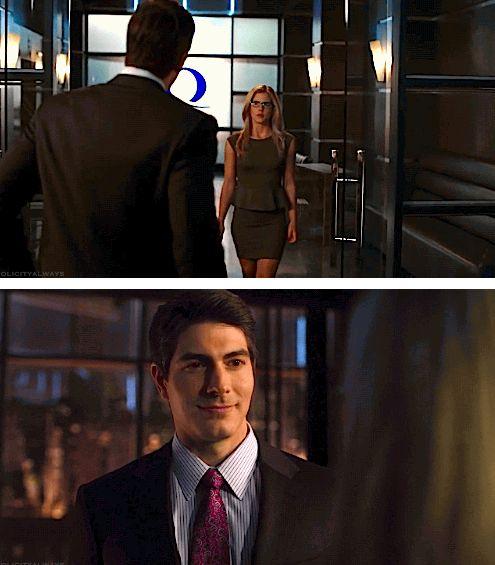 Arrow - Felicity and Ray Palmer #Season3