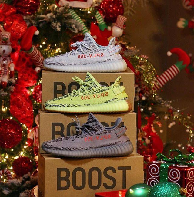 Christmas Yeezy 350 V2   Christmas