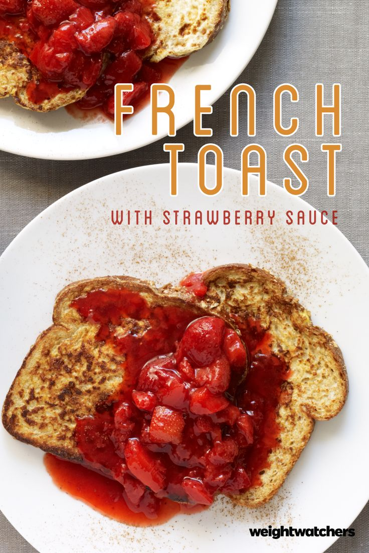 Our Fresh Strawberry French Toast is a weekend-worthy breakfast that's simple enough to prepare on a weekday! 6 SmartPoints