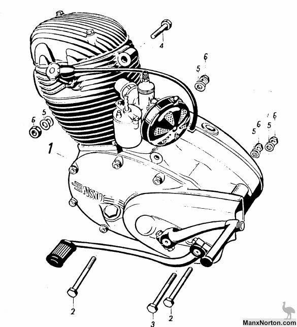 Ariel Motor diagram