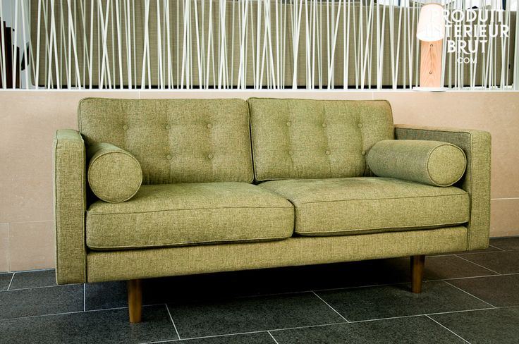 Green, Chic and comfortable, with irresistible retro lines! This Scandinavian sofa Beauty can be found at PIB. Discover more at www.pib-home.co.uk