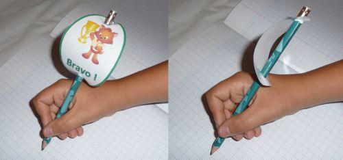 reward for good behaviour/to motivate students to write