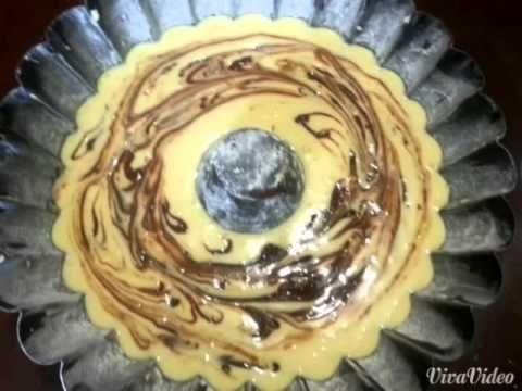 Video ricetta...Ciambella allo yogurt e Nutella.