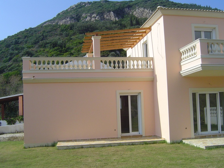 Porto Timoni Villas opposite the beach of St George North, Pagi Agios Georgios info@corfuselections.com