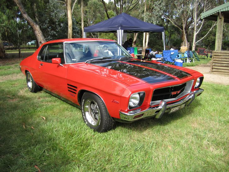 1973 Holden HQ Monaro GTS 308 V/8 2 Door Coupe.  Manufactured in Australia by General Motors Holden.