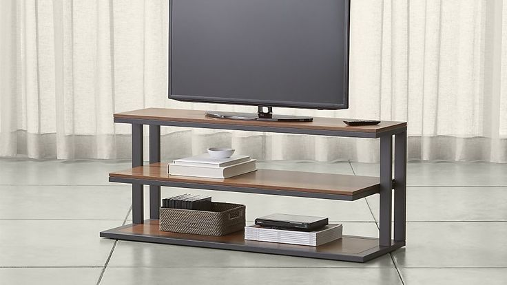 "Pilsen 52"" Graphite Media Console 