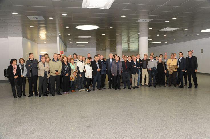 Foto di gruppo dei medici che hanno partecipato all' evento.