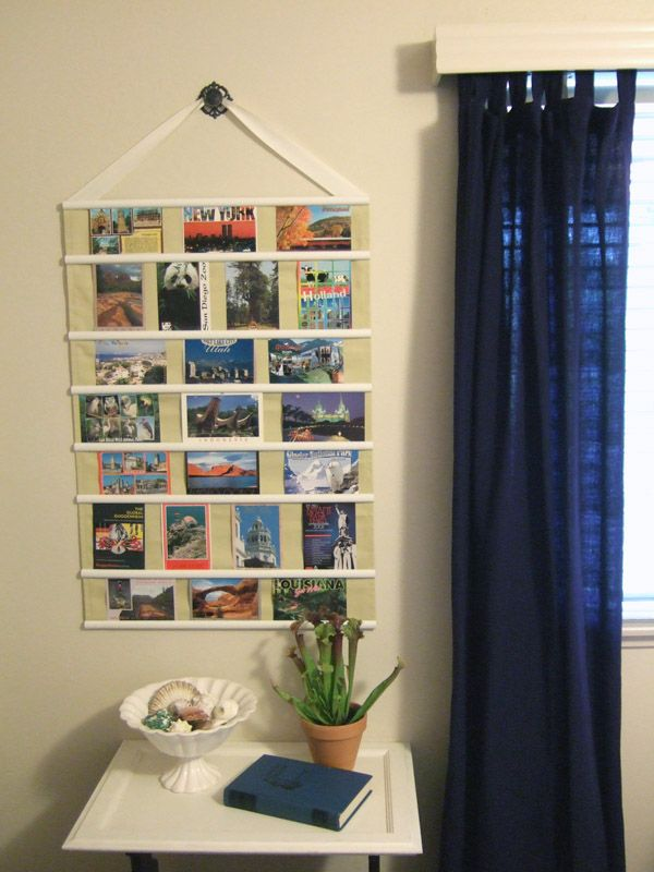 87 Best Images About Creative Display Of Postcards On