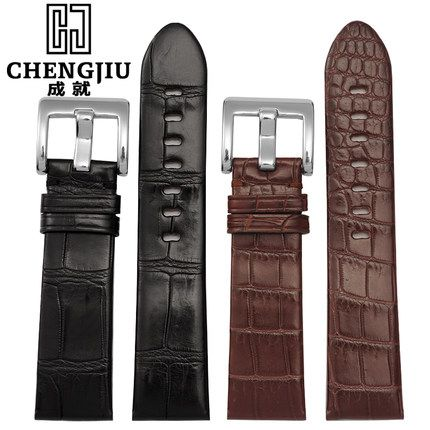 High Quality Crocs Watchband For Mont Blanc/Star/36065/ Timewalker 22mm Leather Watch Strap Belt Bracelet Correas Reloj Orologi  #Affiliate