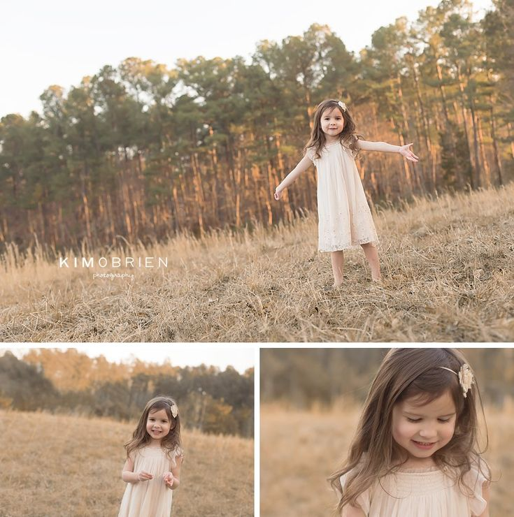 Sweet girl ~ 4 year old ~ Cary North Carolina child photographer ~ Kim OBrien Photography