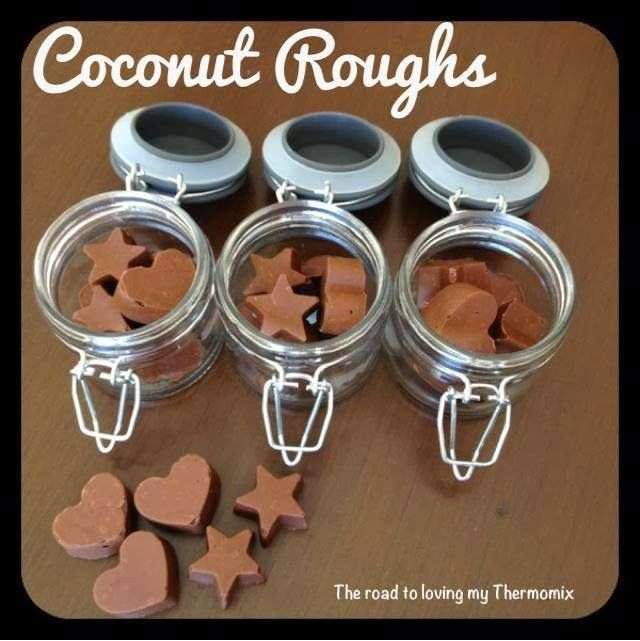 The road to loving my Thermomix: Coconut Roughs