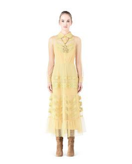 Are you looking for REDValentino Women Tulle And Macramé Dress? Discover all the details at the official store and shop online: fast delivery and secure payments.