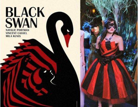Vestido de Aria cisne negro