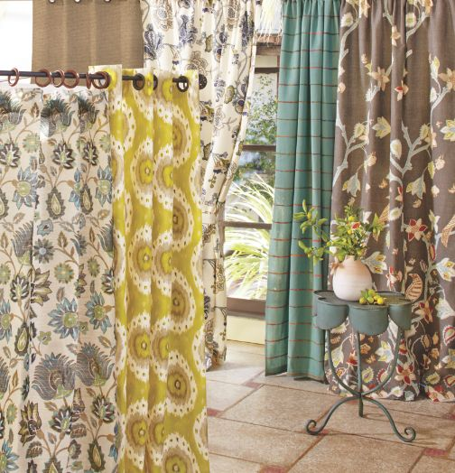 New Spring Collection featuring Cost Plus World Market's Tatiana Curtain >> #WorldMarket Home Decor Ideas